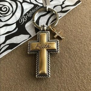 True Faith Cross Key Chain Fob